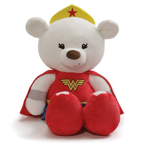 Wonder Woman Fuzzy Bear Jumboÿ25-Inch Plush