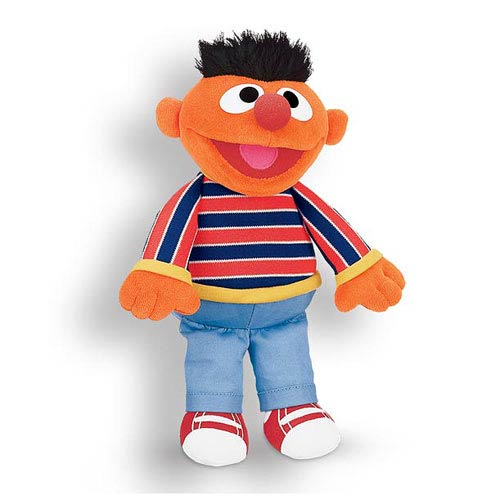 Sesame Street  Ernie 13 1/2-Inch Plush