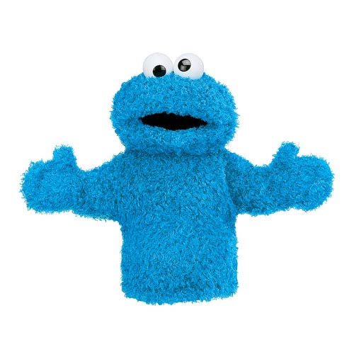 Sesame Street Cookie Monster Hand Puppet 11-Inch Plush