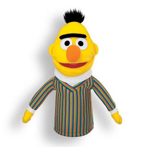 Sesame Street Bert Hand Puppet 13-Inch Plush