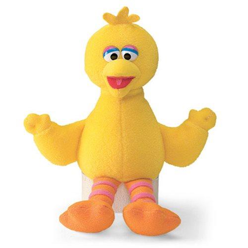 Sesame Street Big Bird Beanbag 6 3/4-Inch Plush