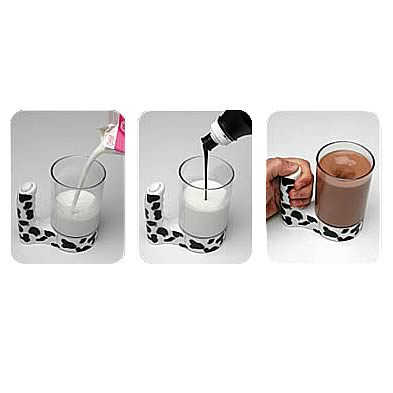 Moo Mixer Handheld Chocolate Milk Mixer