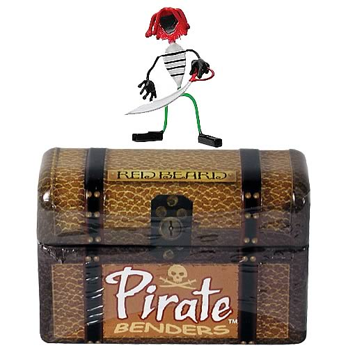 Pirate Benders Red Beard Figure