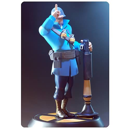 Team Fortress 2 Blue Soldier Statue