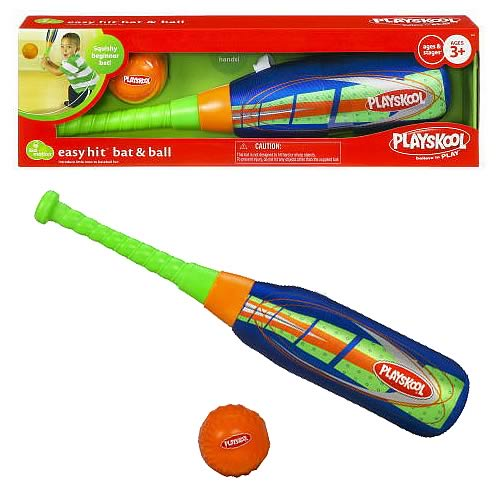 Playskool Easy Hit Bat 'N Ball Set