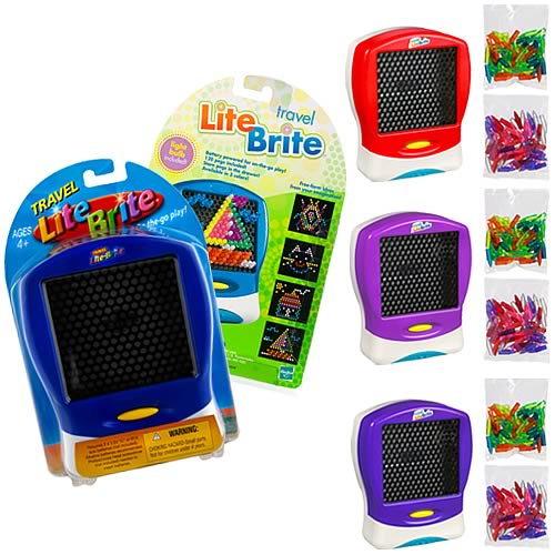 Lite Brite Travel Assortment Wave 1 Set