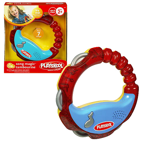 Playskool Playbox Essentials Magic Tambourine