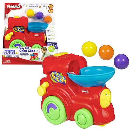 Playskool Busy Ball Choo Choo Train