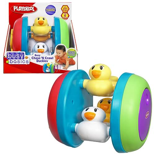 Playskool Busy Chase N Crawl Duckies