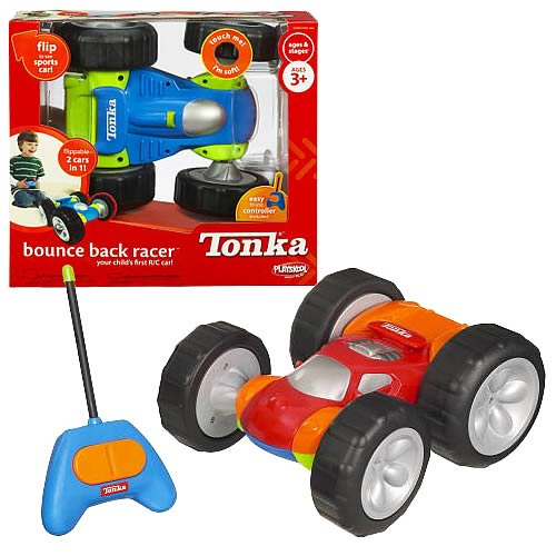 Playskool Tonka Bounce Back Racer Car