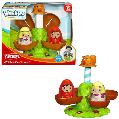 Playskool Weebles Weeble-Go-Round Playset
