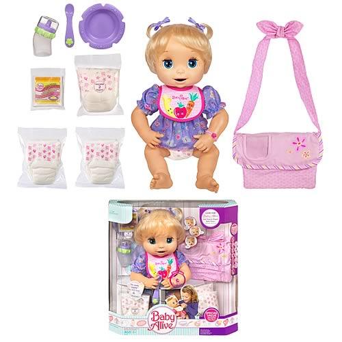 Baby Alive Caucasian Bonus Gift Pack Hasbro Baby