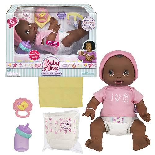 Baby Alive Wets & Wiggles (AA Girl)