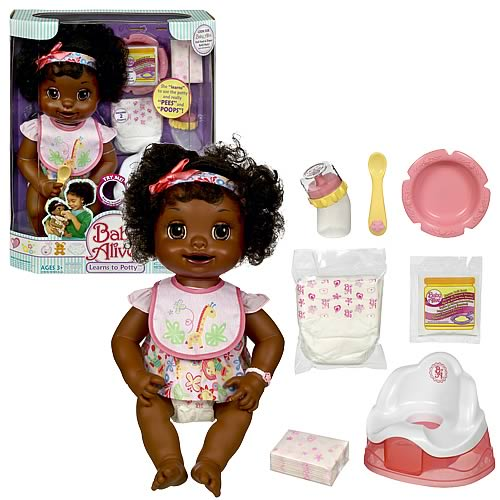 Baby Alive Learns To Potty African American Hasbro