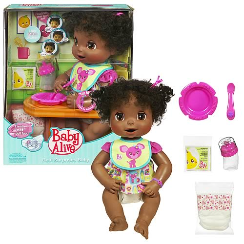 Baby Alive African American Baby Eva Doll