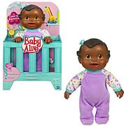 Baby Alive Bouncing Babbles Black Baby Doll