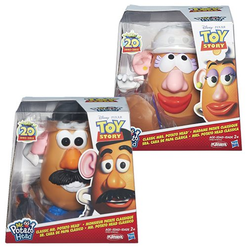 Toy Story Mr. Potato Head and Mrs. Potato Head Set