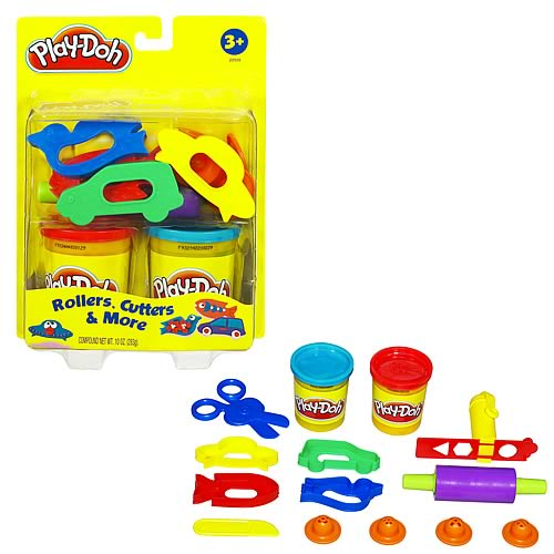 Play-Doh Rollers, Cutters, and More