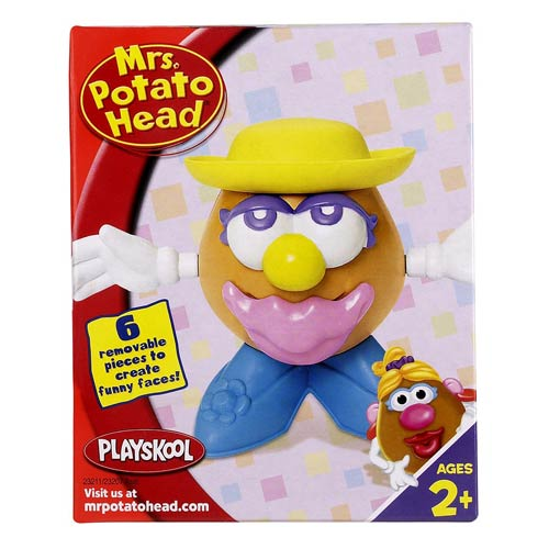 Mini Mrs. Potato Head (Yellow Hat)
