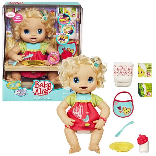 Baby Alive My Baby Alive Blonde Doll