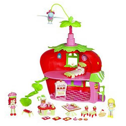 hasbro strawberry shortcake playsets strawberry shortcake berry cafe ...