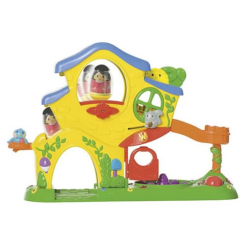 Playskool Weebles Turn 'N Tumble Home Playset