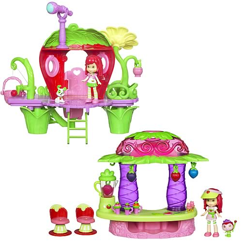 Strawberry Shortcake Mini Playsets Wave 3