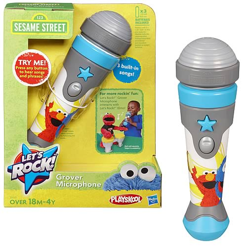 Sesame Street Lets Rock Microphone