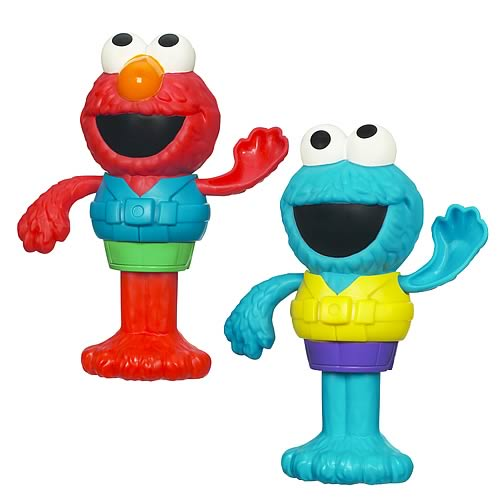 Sesame Street Silly Swimmers Wave 1 Set
