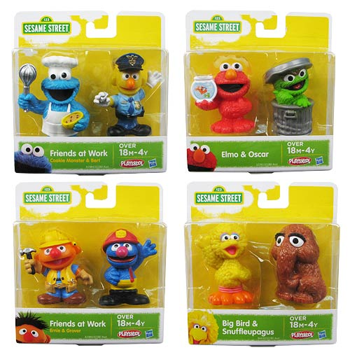 Sesame Street Figure 2-Packs Wave 4