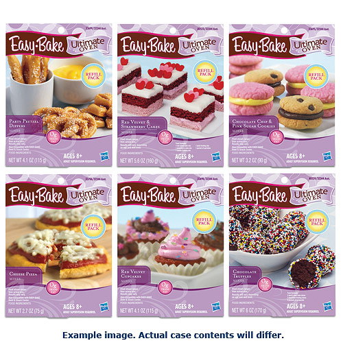 Easy Bake Oven Refills Wave 1