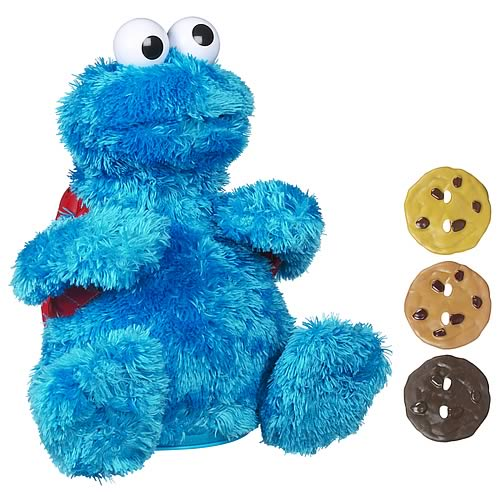 Sesame Street Count and Crunch Cookie Monster Plush