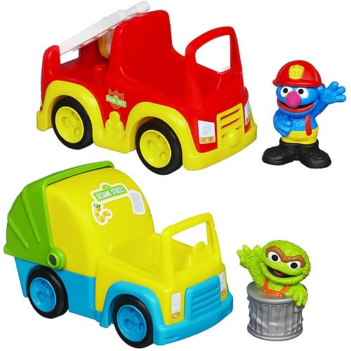 Sesame Street Vehicles Wave 1