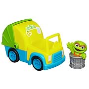 Sesame Street Oscar the Grouch Garbage Truck