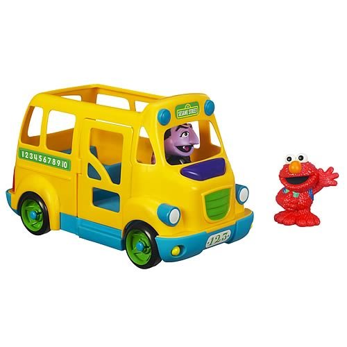 Sesame Street School Bus Vehicle