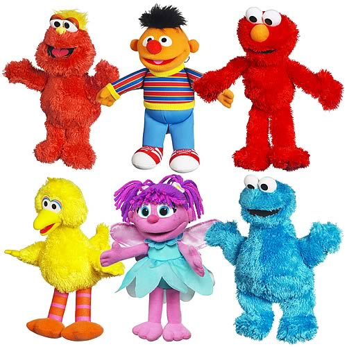 Sesame Street Mini Plush Pals Wave 1