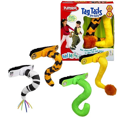 Playskool Tag Tails Zoo Chase