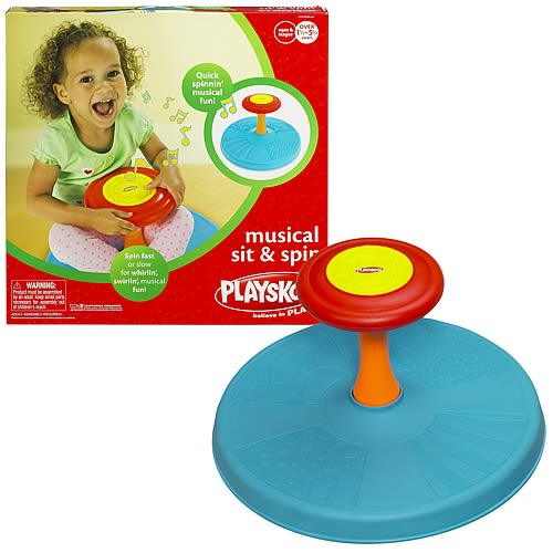 Playskool Musical Toys : Playskool musical sit and spin hasbro