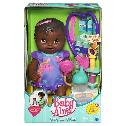 Baby Alive Baby All Better African-American Doll