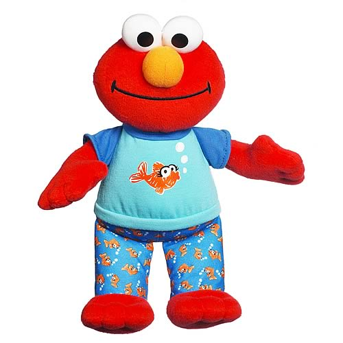 Sesame Street Lullaby and Good Night Elmo Plush