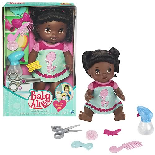 Baby Alive Beautiful Now African-American Doll