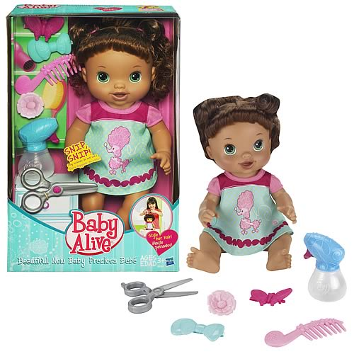 Baby Alive Beautiful Now Brunette Doll