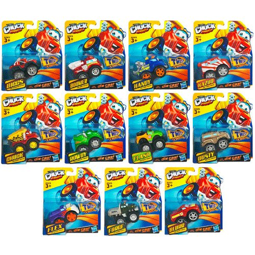 Tonka Chuck & Friends Collectible Vehicles Wave 2 Case
