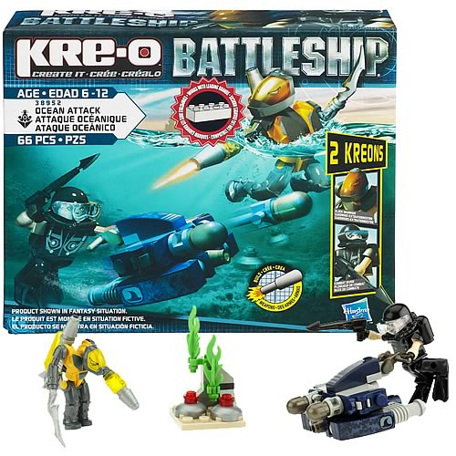 Kre-o Battleship Ocean Attack Set