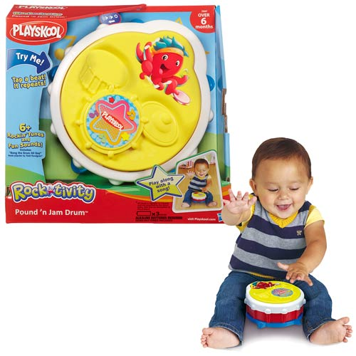 Playskool Rocktivity Pound N Jam Drum