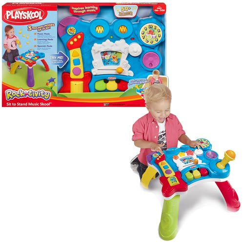 Playskool Rocktivity Music Skool Table