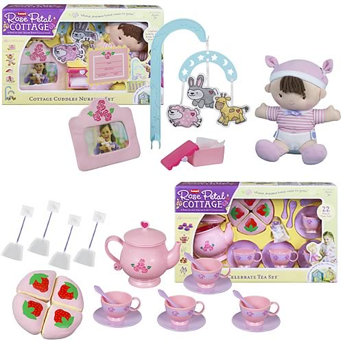 Dream Town Rose Petal Cottage Deluxe Accessory Wave 1 Set