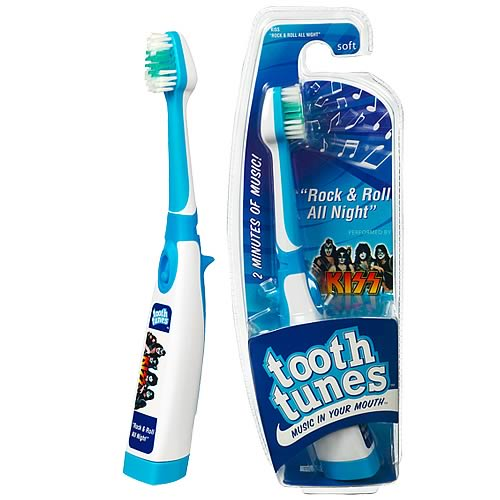 Tooth Tunes Rock & Roll All Night (KISS) Brush