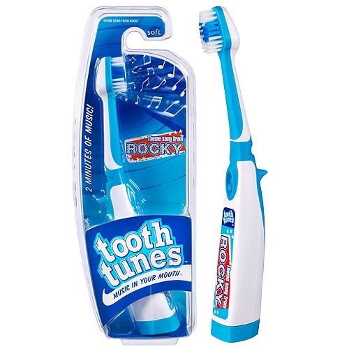 Tooth Tunes Theme From Rocky Brush