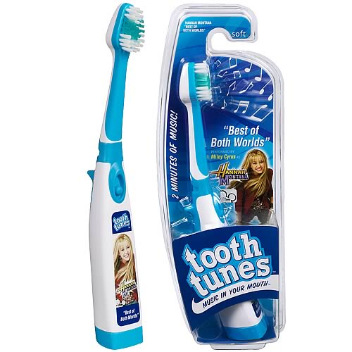 Tooth tunes best of both worlds hannah montana brush for Best house tunes of all time